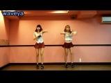 Корейская танцевальная группа Waveya танцует под T-ARA - Roly Poly